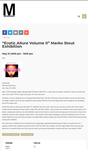 #markostout :: news about celebrity marko stout