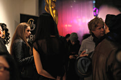 marko stout gallery opening night