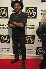 marko stout red carpet marko stout gallery opening