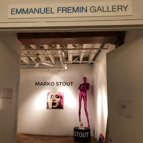 marko stout solo  exhibition at Emmanuel Fremin Gallery NYC
