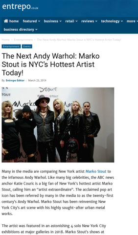#marko stout is marko stout the next andy warhol