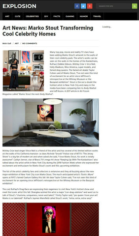 #markostout celebrity news: marko stout interior design
