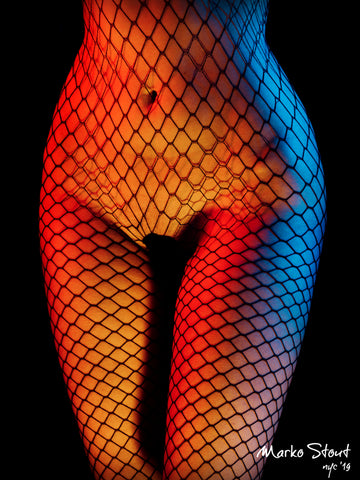 """Torso in Fishnet No. 02"" by Marko Stout (Limited Edition of 5)"