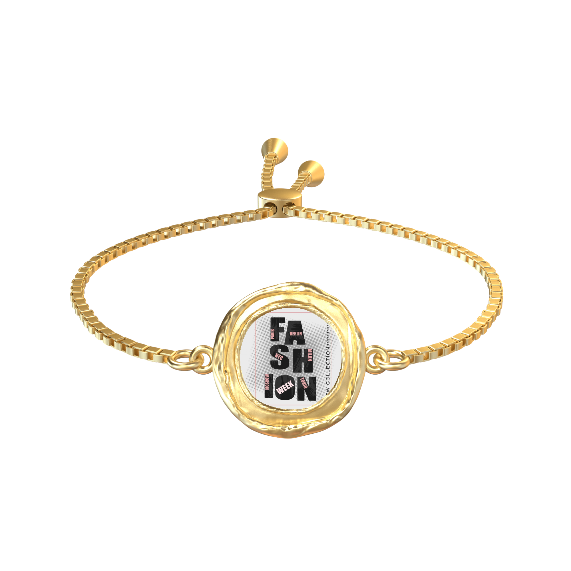 """Fashion Week"" Gold SoHo Bracelet"