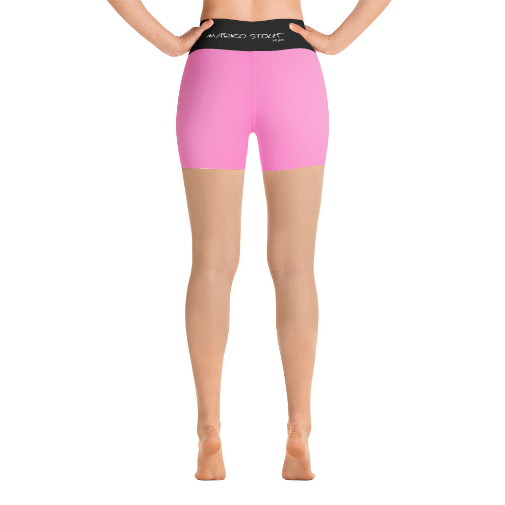 Hot Pink Yoga Shorts (Resist)