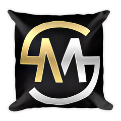 """Marko Stout Logo"" Pillow"