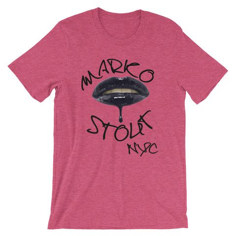 SoHo T-Shirt (Lips in Black)