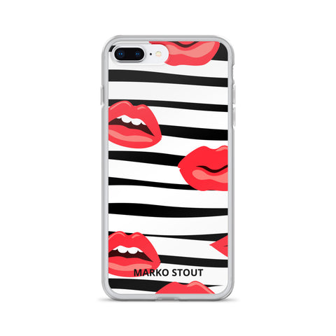 iPhone Case (Lips No.09)