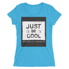 """Be Cool"" Short Sleeve Crew Neck"