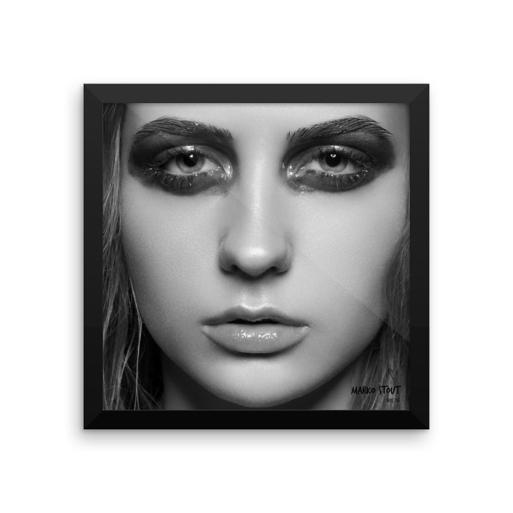 """Black & White No. 31"" Framed Limited Edition Print"