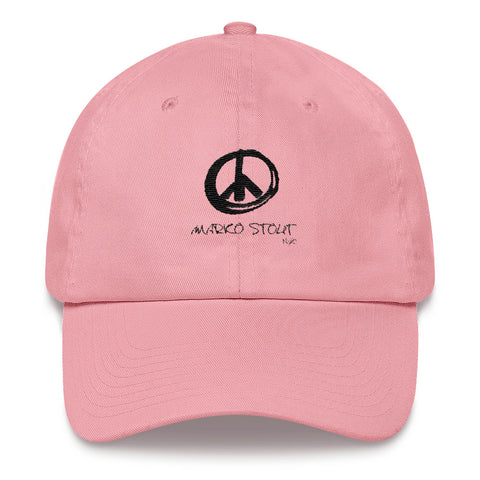 SoHo Cap (Peace Sing in Black Maker)