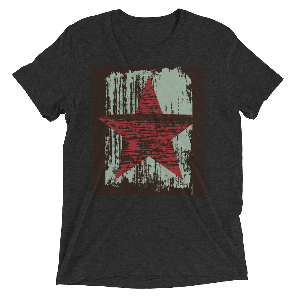 """Red Star"" Short Sleeve Crew Neck"