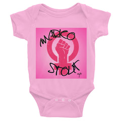 "Infant Bodysuit ""Resist"""