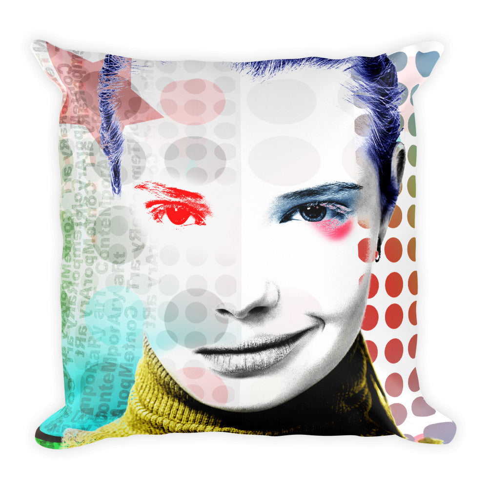 """Erotic Nightmare No. 02"" Pillow"