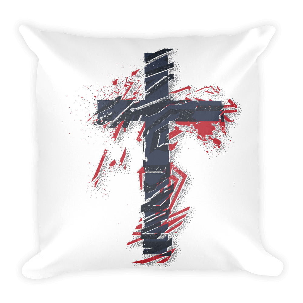 Square Pillow (Cross)