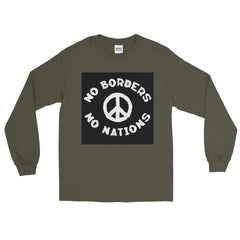 Long Sleeve T-Shirt (No Borders No Nations)