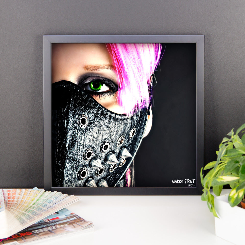 "Framed Limited Edition Print (""Darkside"")"