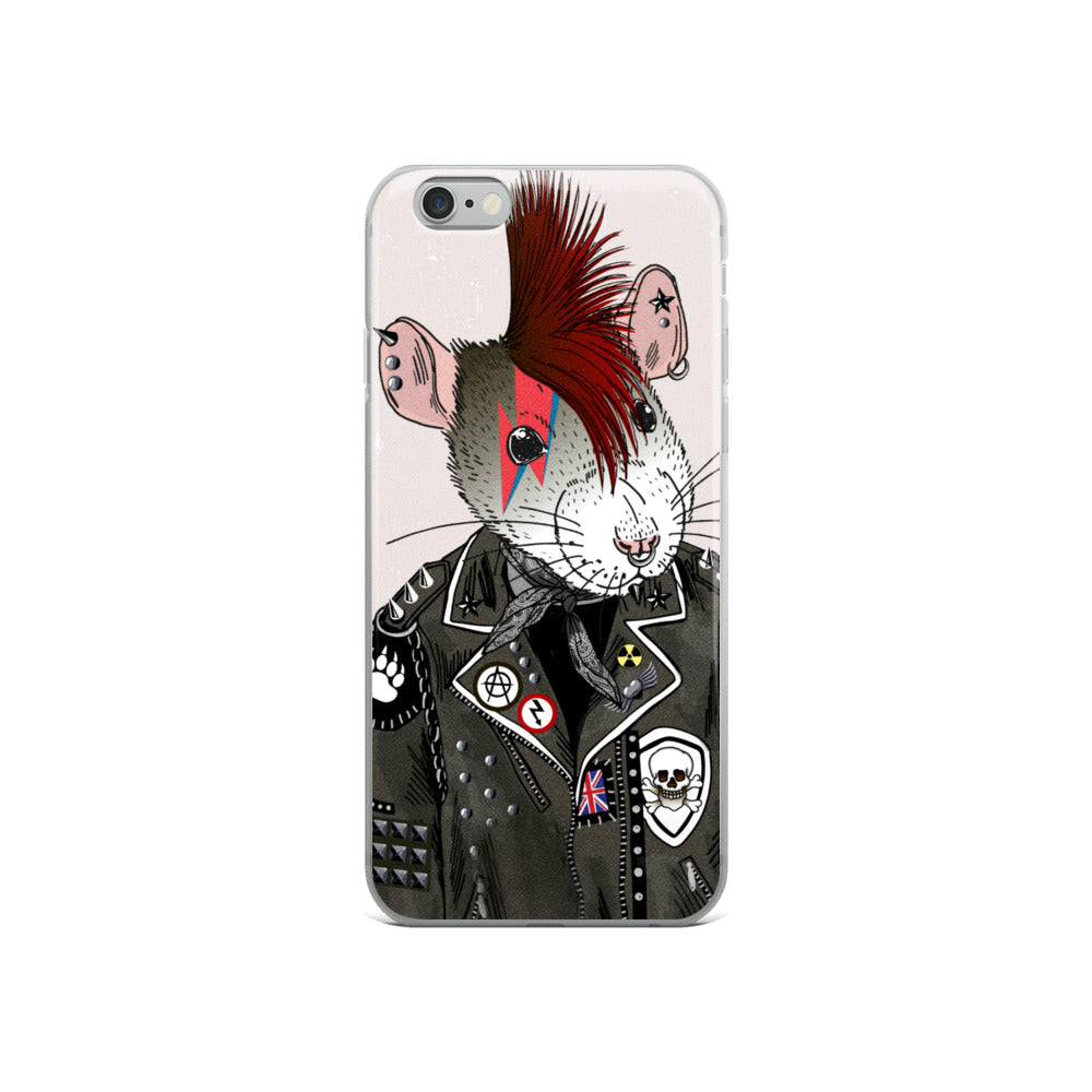 """SoHo Rat"" iPhone Case"