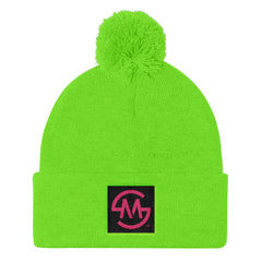 Our Cool MS Logo Pom Pom Knit Cap