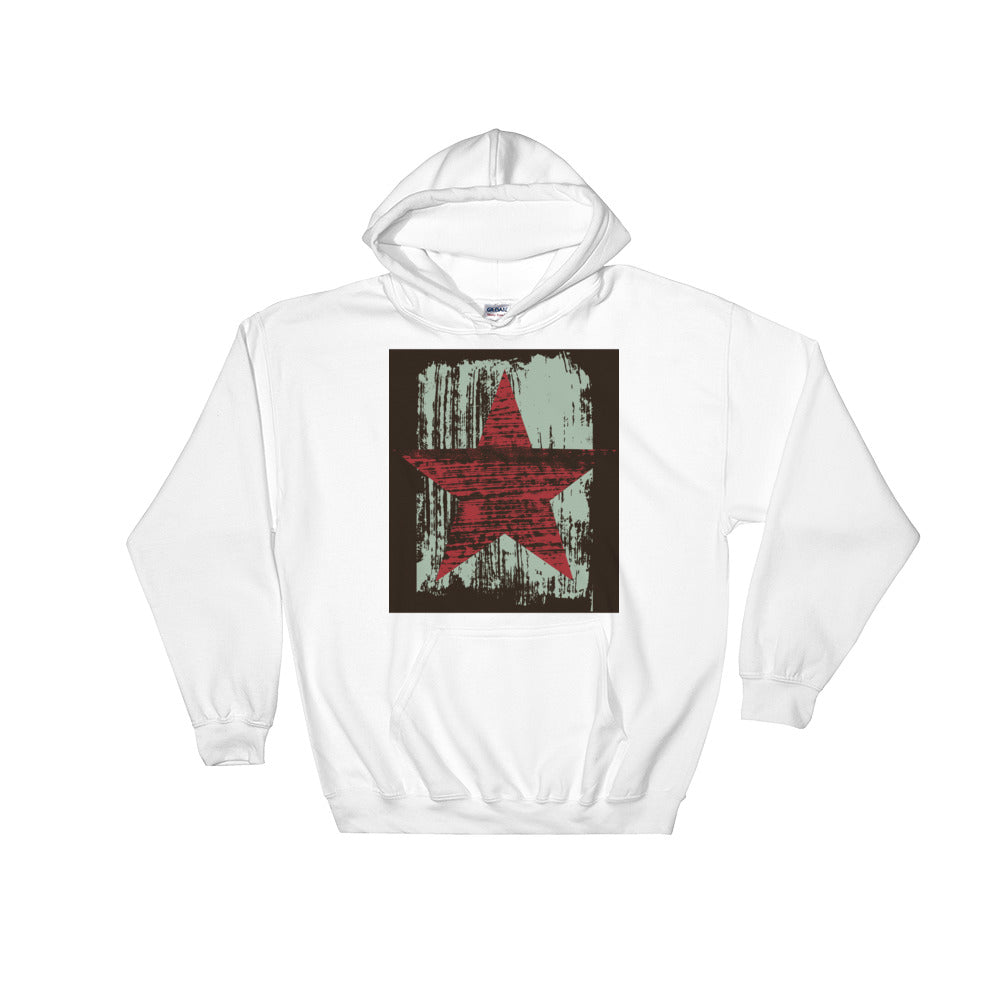 """Red Star"" Downtown Hoodie"