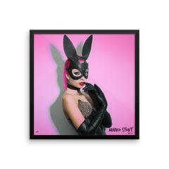"Framed Limited Edition Print (""Dark Rabbit No. 01"")"