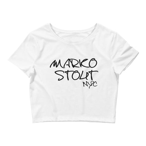 Women's Crop Tee (Marko Stout NYC)
