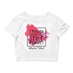Urban Fashion Crop Tee (Style Endure)