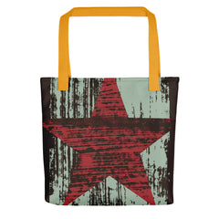 """Red Star"" Tote"