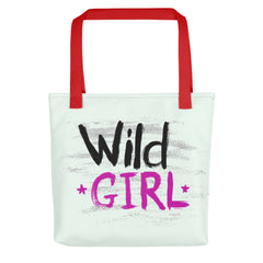 """Wild Girl"" Downtown Tote"