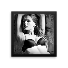 """Black & White No. 04"" Framed Limited Edition Print (50 per size)"