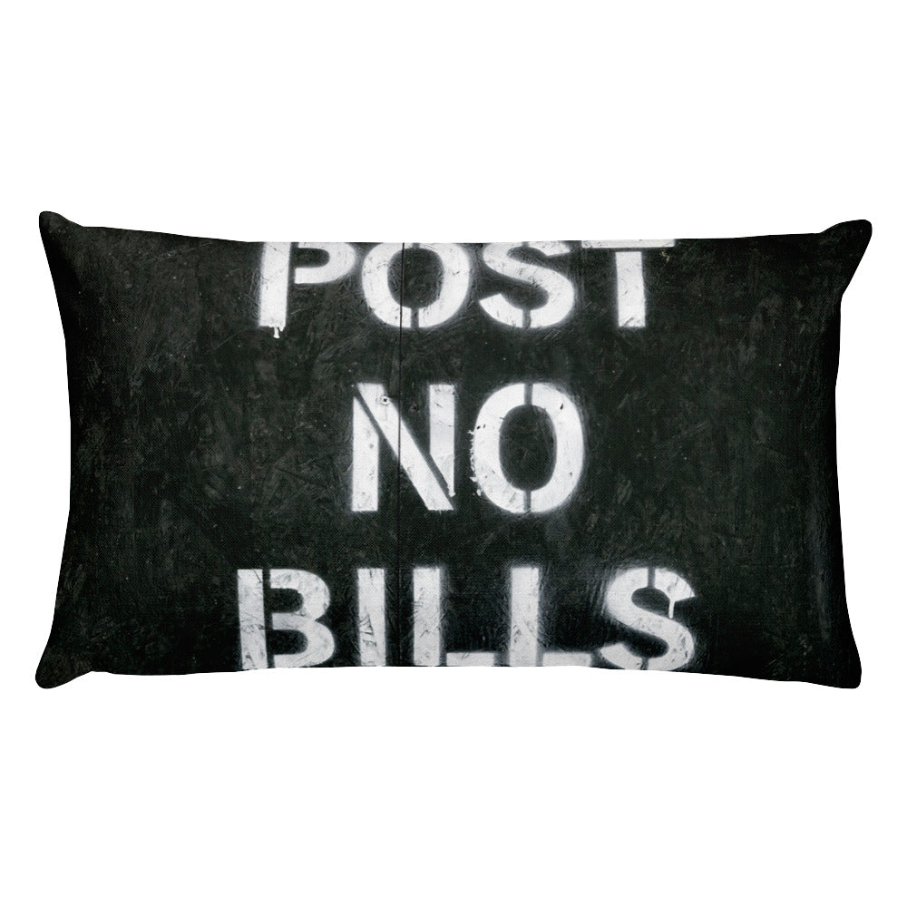 Rectangular Pillow (Post No Bills)