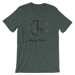 Bleecker Street T-Shirt (Peace Sign in Black Marker)