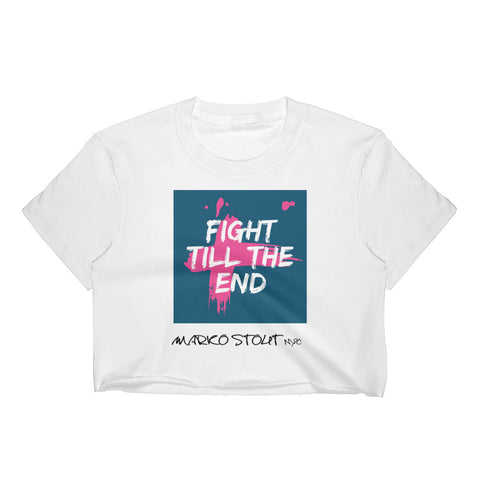 Metro Crop Top (Fight Till The End!)