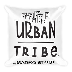 Urban Tribe Square Pillow (Brooklyn Pit)