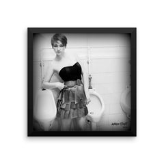 """Black & White No. 14"" Framed Limited Edition Print (50 per size)"