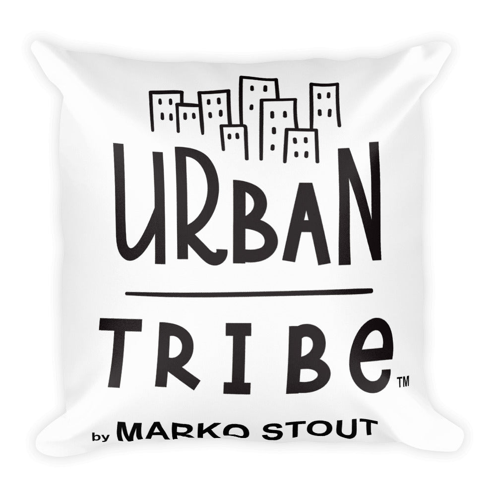 Urban Tribe Square Pillow (SoHo Rat)