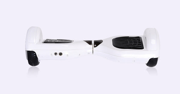 "6.5"" HoverWheelz Twist Self-Balancing Electric Scooter Hoverboard White"