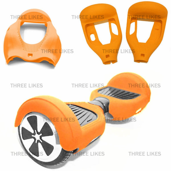 "HOT! 2017 HoverWheelz Weatherproof Silicone Multi-Colors for 6.5"" Hoverboards"
