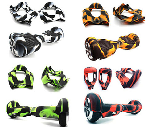 "HOT! 2017 HoverWheelz Weatherproof Silicone Multiple-Colors for 6.5"" Hoverboards"