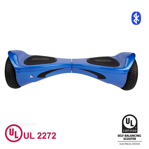 "8"" HoverWheelz Gen3 Self-Balancing Electric Scooter Hoverboard Blue"