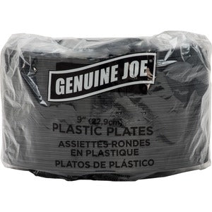 Genuine Joe Round Plate (Pack of 125)