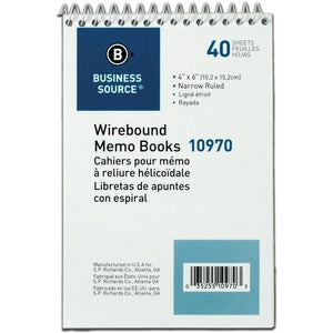 Business Source Memo Book (Pack of 12)