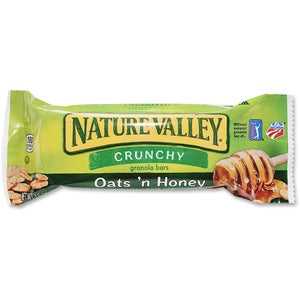 NATURE VALLEY Oats 'N Honey Granola Bars (Box of 18)