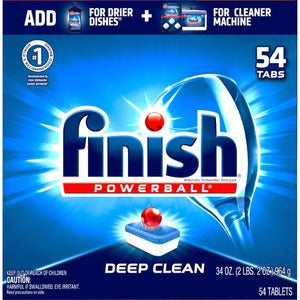 Finish Dishwash Tab (Pack of 60)