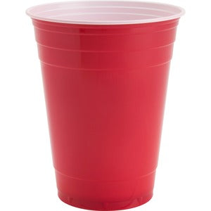 Genuine Joe Plastic Party Cup (Pack of 50)