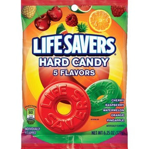 Wrigley Life Savers 5 Flavors Hard Candies (Bag of  )