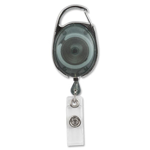 Merangue Carabiner Badge Reels (Pack of 2)