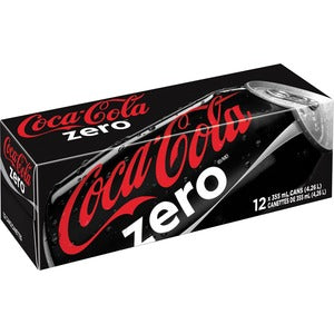 Coca-Cola Zero Soft Drink (Carton of 12)