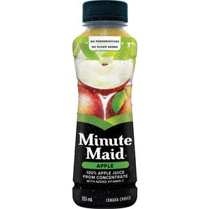 Minute Maid Pomme Jus Apple Juice (Carton of 12)