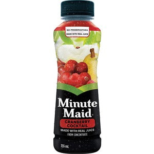 Minute Maid Cocktail Cranberry Drink (Carton of 12)